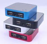 фото Внешнее зарядное устройство Power Bank DOCA D525 (8400mAh), чёрный #6