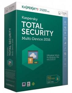 Программа Kaspersky Total Security (Multi-Device) 1+1 Device 1 year Base Box