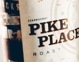 Подарок Кофе Starbucks Pike Place Whole Bean, (зерно) 453 г