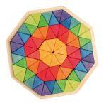 Мозаика объемная треугольники Октагон большая