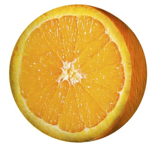 Купить Подушка-пуфик 'Апельсин'