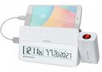 Проекционные часы Bresser MyTime Pro white (922430)