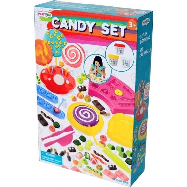 Купить Набор для лепки PlayGo 'Фабрика конфет' (8588)