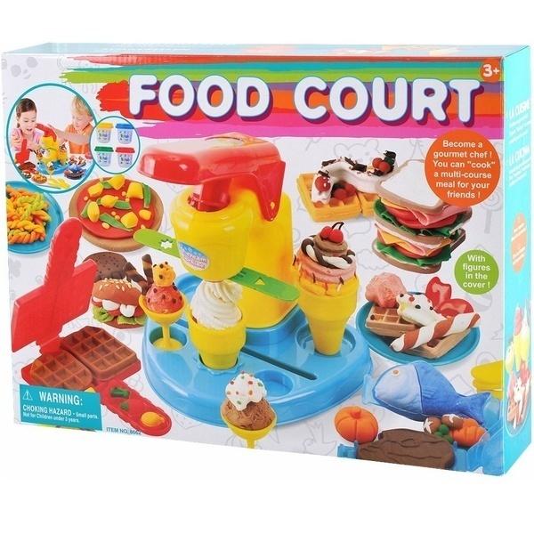 Купить Набор для лепки PlayGo 'Детский кафетерий' (8662)
