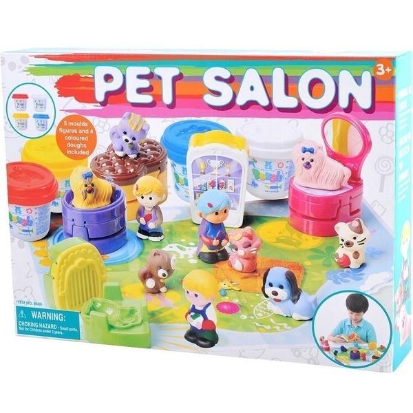 Купить Набор для лепки PlayGo 'Салон домашних животных' (8686)