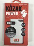 Подарок Зарядное устройство UFT Kozak Power 6000 black