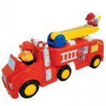 Развивающая игрушка Kiddieland 'Пожарная машина' механическая со светом и звуком