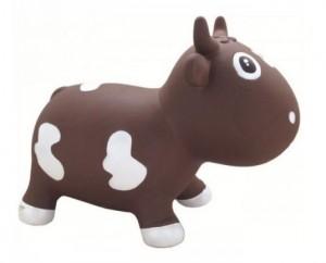 Попрыгун Kidzzfarm 'Коровка Белла' шоколадный (KFMC130107)