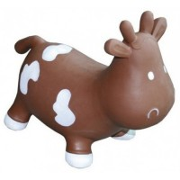 Попрыгун Kidzzfarm 'Коровка Бетси' шоколадный (KFMC130307)