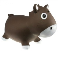 Попрыгун Kidzzfarm 'Лошадка Гарри' шоколадный (KFPO130207)