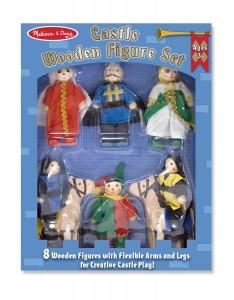 Деревянные фигурки для рыцарского замка Melissa&Doug (MD285)
