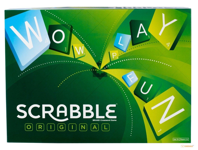 Настольная игра Scrabble Original ENG (Y9592)