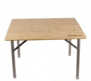 Раскладной стол KingCamp 4-Fold Bamboo Table (KC3954A bamboo)