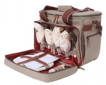 Набор для пикника KingCamp Picnic Bag-4 Brown (KG3798)