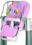Набор аксессуаров для стульчика Peg-Perego Tatamia розовый (IKAC0009--IN29)