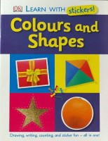Книга Colours and Shapes Learn with Stickers