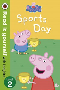 Книга Peppa Pig: Sports Day - Read it Yourself with Ladybird. Level 2