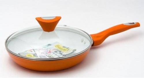 Сковорода Maestro оранжевая 22 см (MR1209-22-о)