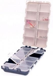 Коробка двойная Aquatech 20 ячеек с крышками (2420)