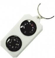 Компас-брелок Sol сувенирный с градусником (SLA-003)