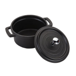 Кастрюля Maestro 0.25 л 10 см черная (MR4010-ч)