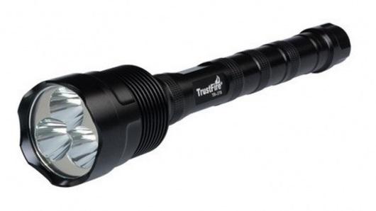 Купить Фонарь TrustFire TR-3T6 (3xCree XM-L T6, 3800 люмен, 5 режимов, 2/3x18650) (8-1044)
