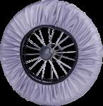 Чехлы на колеса Baby Breeze (липучка) 0337 диаметр 21-29 см (в комплекте 2 шт)