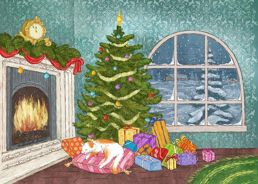 В ожидании Нового года! Адвент-календарь.