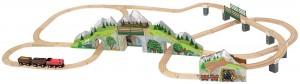 Деревянная железная дорога Melissa & Doug 'Горный туннель' (MD611)