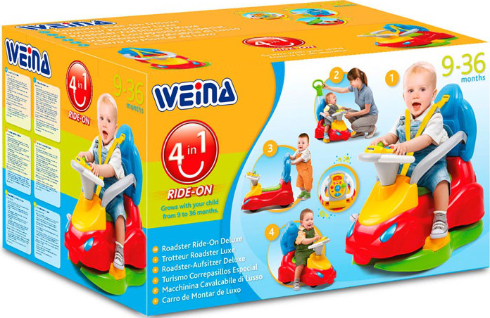 Купить Игрушка Weina машинка-каталка 'Делюкс' (2133)