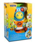 Ходунки-каталка Weina развивающий центр 2 в 1 'Верхом на роботе' (2130)
