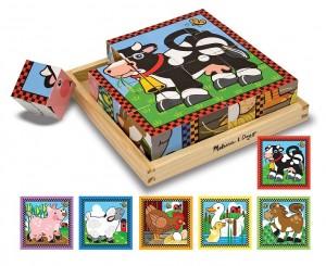 Кубики  Melissa & Doug 'Ферма' (MD775)
