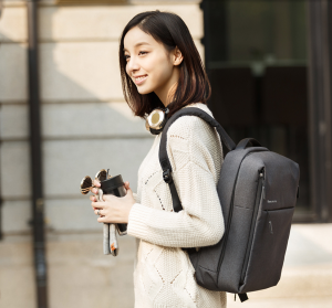 фото Рюкзак Xiaomi Mi minimalist urban Backpack Dark Grey (Р26129) #10