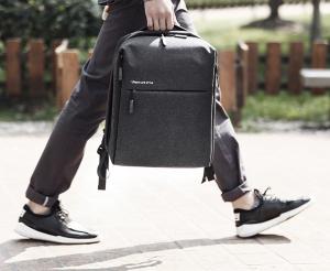 фото Рюкзак Xiaomi Mi minimalist urban Backpack Dark Grey (Р26129) #9