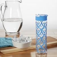 Подарок Бутылка Fit&Fresh 146FF776 Tritan Water Bottle Cornflower Ikat 591 мл