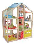 Кукольный домик с подъемником и мебелью Melissa & Doug (MD2462)