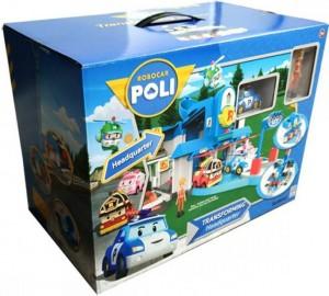 фото Штаб квартира Silverlit 'Robocar Poli' 83304 (с фигуркой Джин) #5