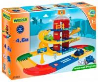 Паркинг 3 этажа с дорогой (4,6 м) 'Kid Cars' Wader (53040)
