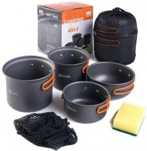 Набор посуды NatureHike 2-3 (NH15T401-G)
