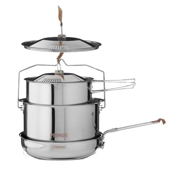 Набор посуды Primus CampFire Cookset S/S Large (738001)