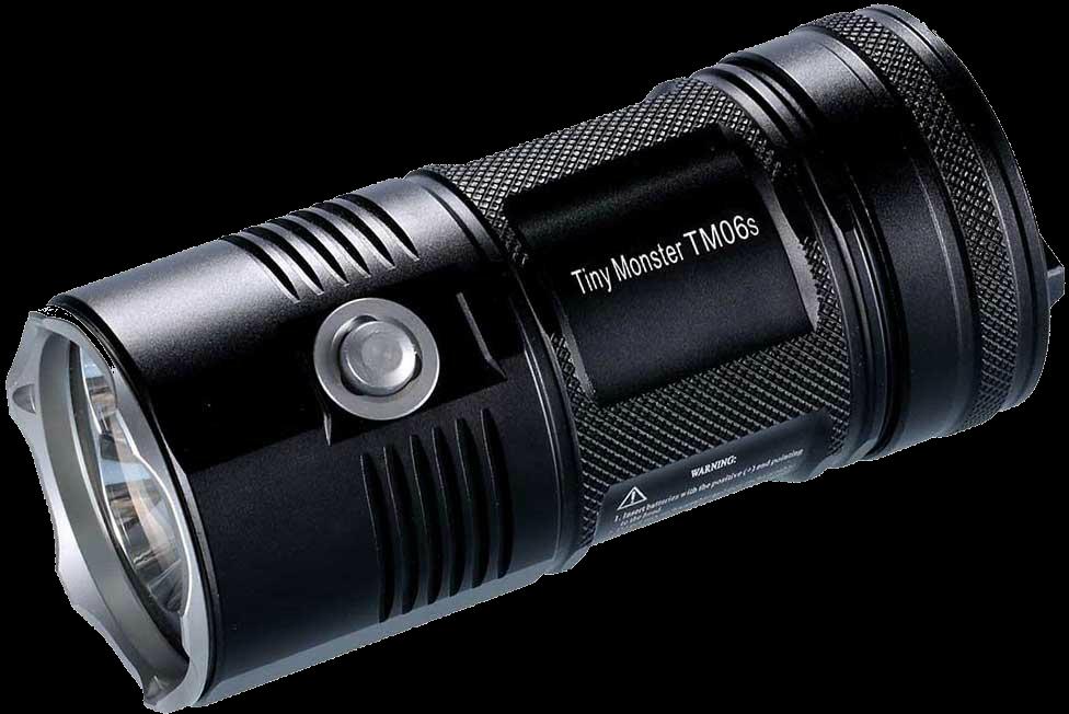 Купить Фонарь Nitecore TM06S (4xCree XM-L2 U3, 4000 люмен, 8 режимов, 4x18650) (6-1181)