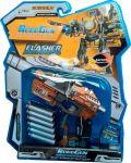 Пистолет-трансформер 2 в 1 'Flasher' RoboGun (6 мягких пуль, блистер) (K01)