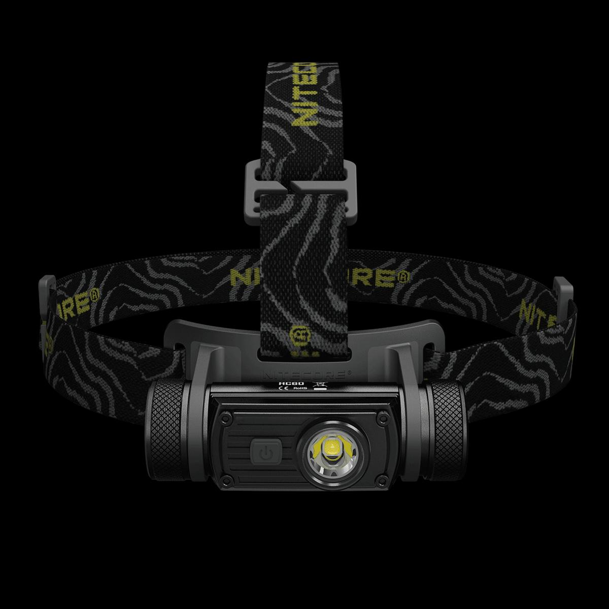 Купить Фонарь налобный Nitecore HC60 (Cree XM-L2 U2, 1000 люмен, 8 режимов, 1x18650, USB) (6-1211)