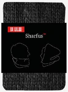 Подарок Шарф 'Шарфус' серый пестрый