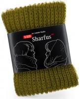 Подарок Шарф 'Шарфус' табачный