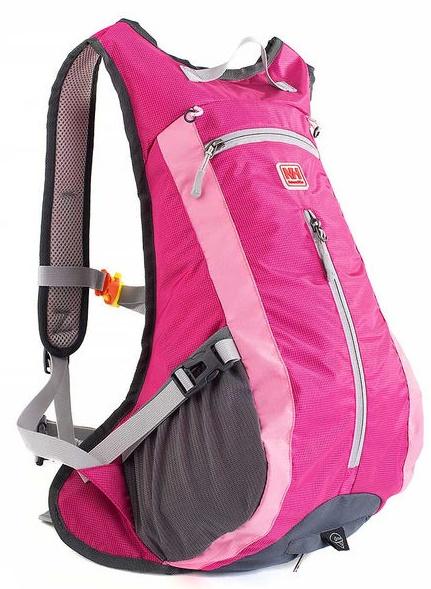 Купить Велорюкзак NatureHike с чехлом для шлема, pink (NH15C001-B)