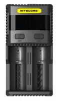 Зарядное устройство Nitecore SC2 с LED дисплеем (0.5A, 1A, 2A, 3A) (6-1197)