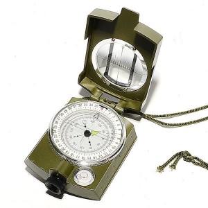 Компас военный, жидкостный, в чехле (49-1001)