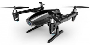 Квадрокоптер UDIRC U28 'Freelander' 165мм HD 720p камера 3D черный (45147)