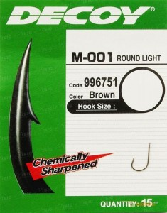 Крючок Decoy M-001 Round light 12 (15620311)
